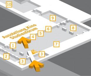 interaktiver Orientierunsplan des Dokumentationszentrum Reichsparteitagsgelände Nürnberg